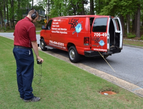 Leak Pro Southeast - Non-Invasive Leak Detection. Our professionals can pinpoint a leak, and offer a number of repair options in order to minimize the impact on you and your customers.With a total of 30+ years of plumbing experience, and two Master Plumbers, we have the expertise you need.We find Water Leaks, Gas Leaks, & Sewer Leaks.Using the latest technology like smoke, camera, video inspections, and electromagnetic inspection and detection, we can find the leak before it ends up costing you thousands of dollars in damage.Our detection methods are non-invasive. No breaking concrete, tearing up drywall, or closing business doors.