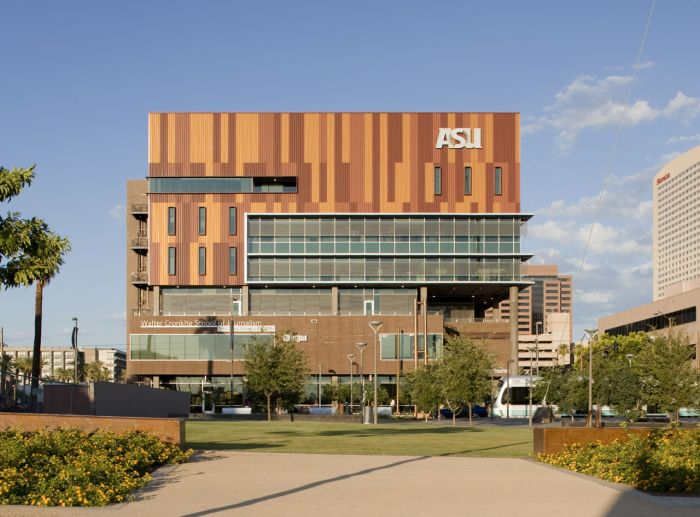 Arizona State University Downtown Campus- location of School for the Science of Healthcare Delivery