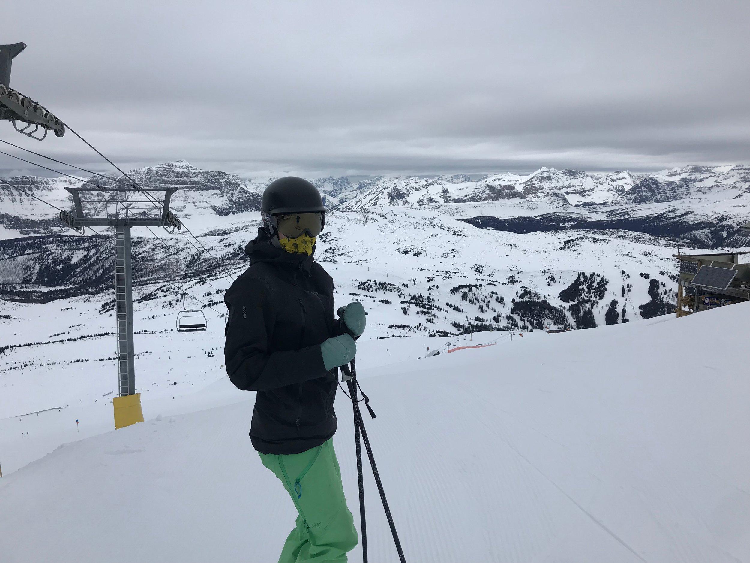 meg-ohara-skiing-sunshine