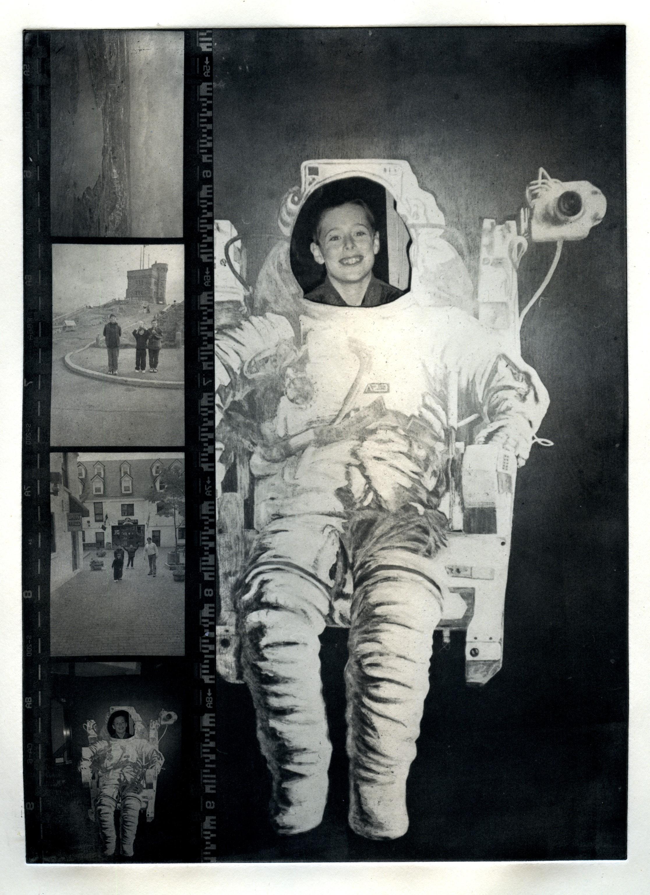 Spaceboy     Photopolymer. 2016