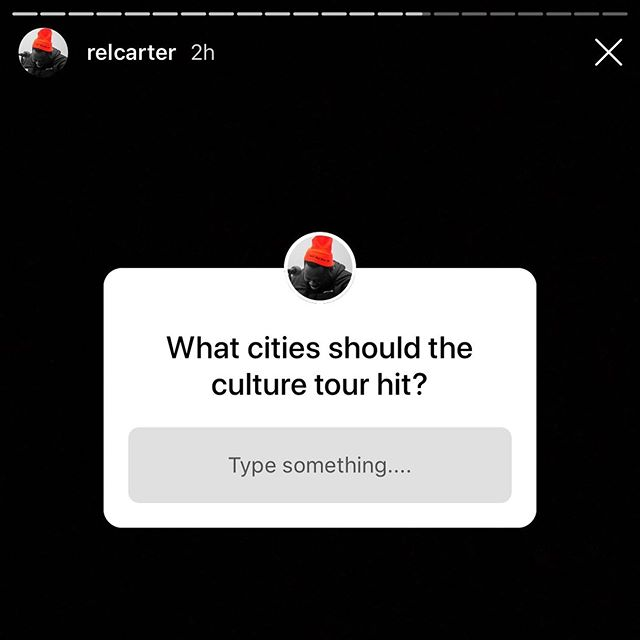 👀👀👀 @relcarter is asking! Comment Below ⬇️