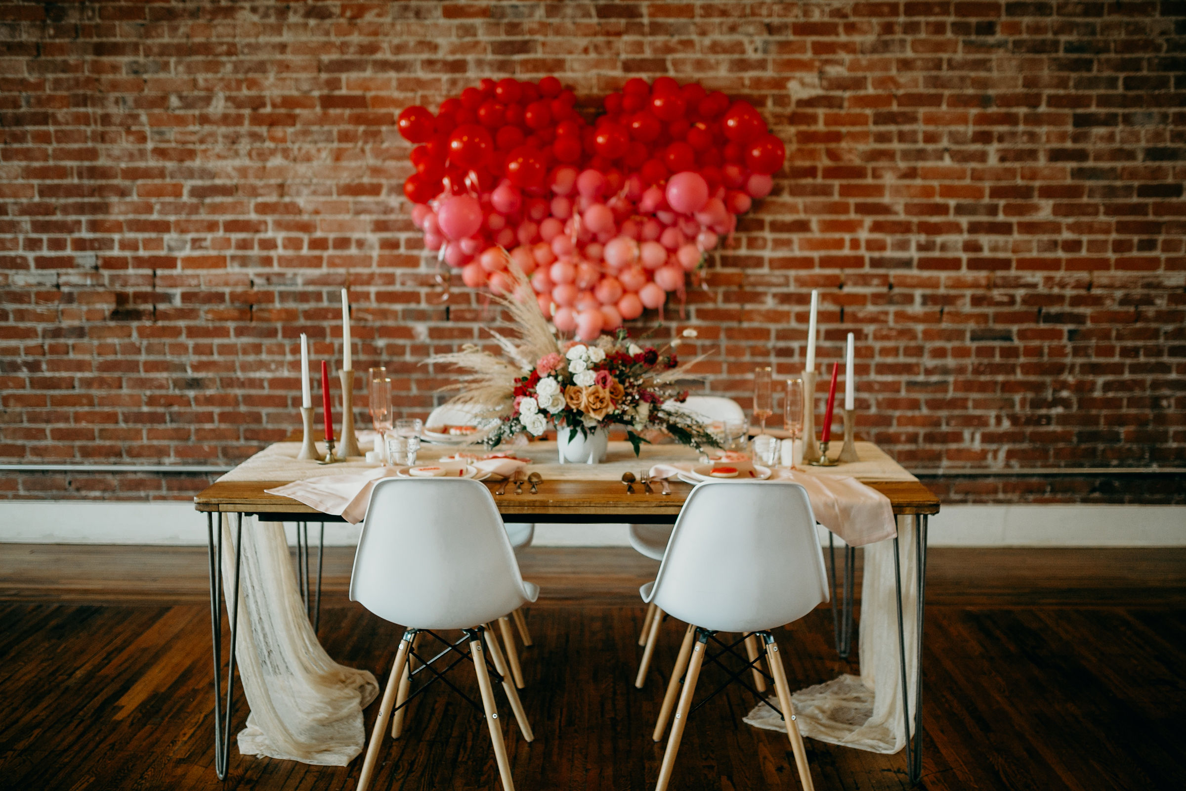 Photo:   Deltoro Photo  |  Styling:  Sarah May Designs |  Rentals:   Planks and Patina  |  Balloons:   The Pop Shop