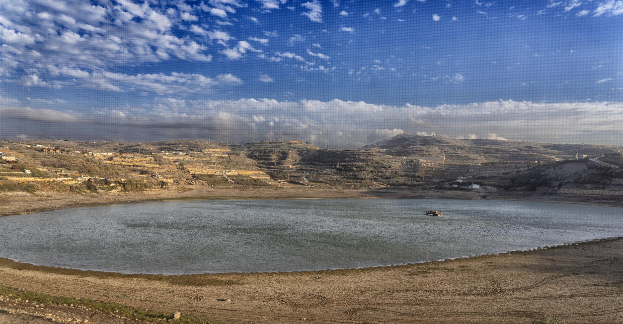 Lake, Druze Village, Golan Heights