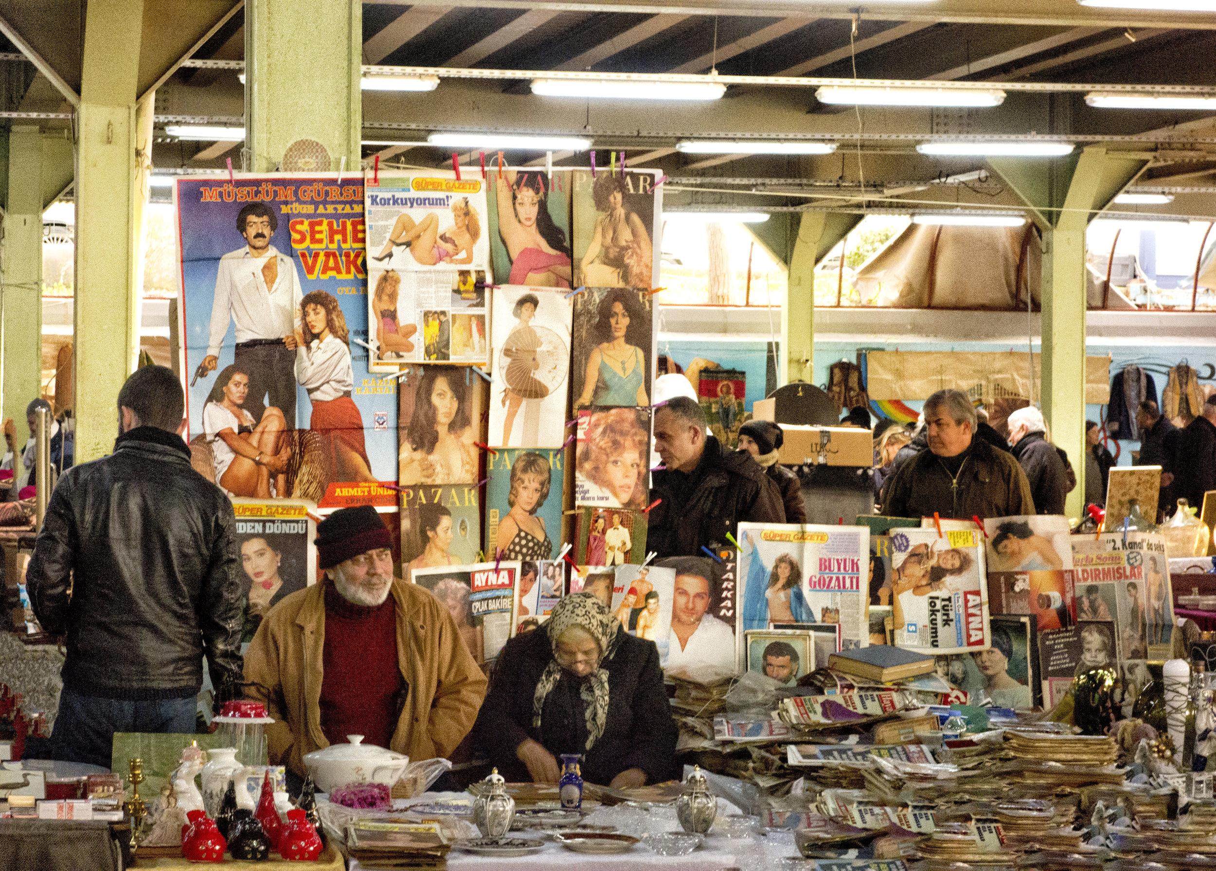 Bazaar, Sisli