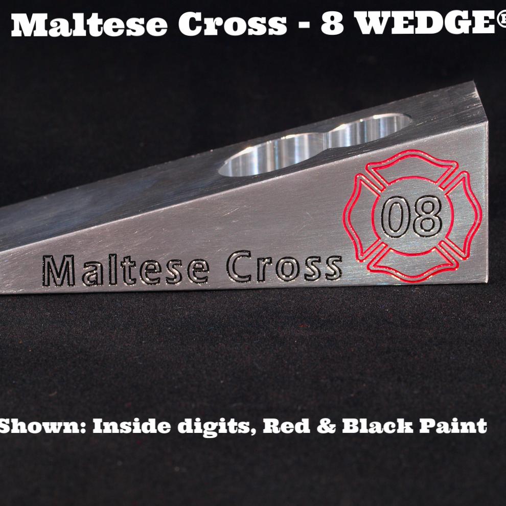 Maltese Cross - 8 WEDGE