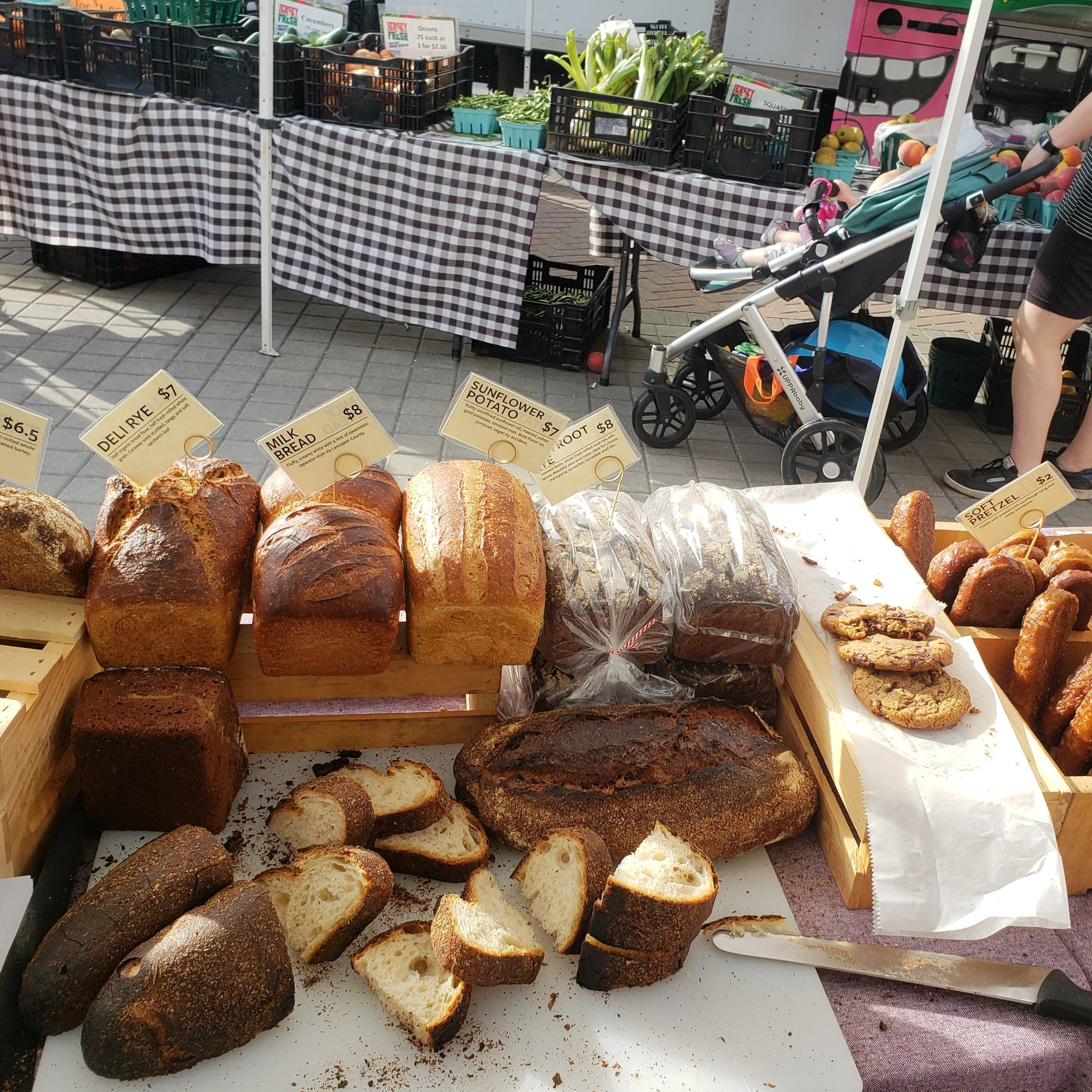 Local Accessibility - Our goal is to get bread into your hands by making it available in the places you already visit. Wherever you grab your coffee or pick up your market produce you should be able to grab a loaf.