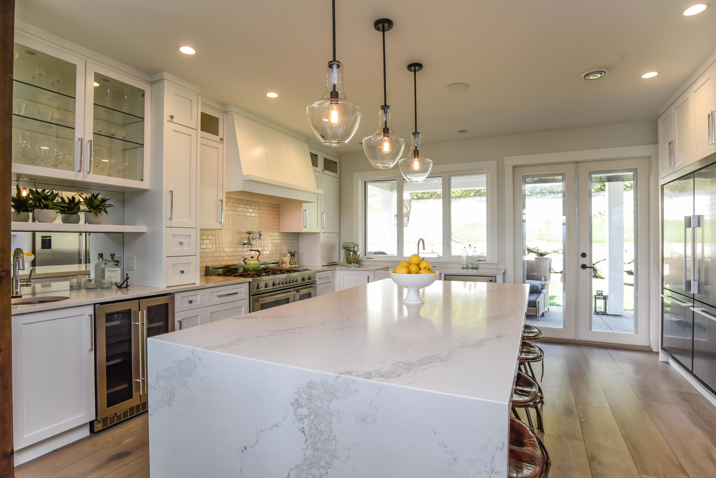 Custom home by Phase One Construction in Lethbridge