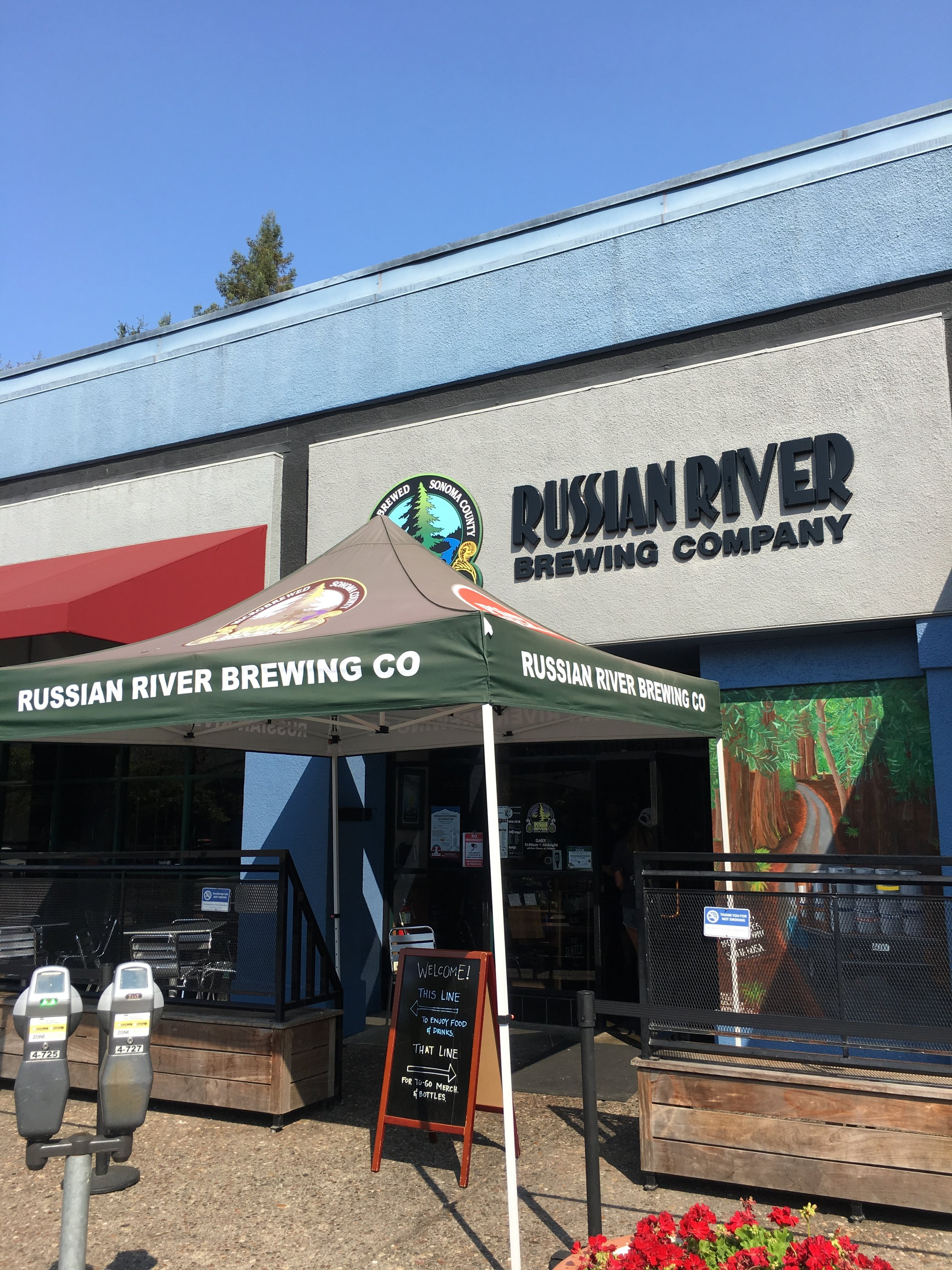 Twenty Four Hours in California Wine Country - Russian River Brewing Company
