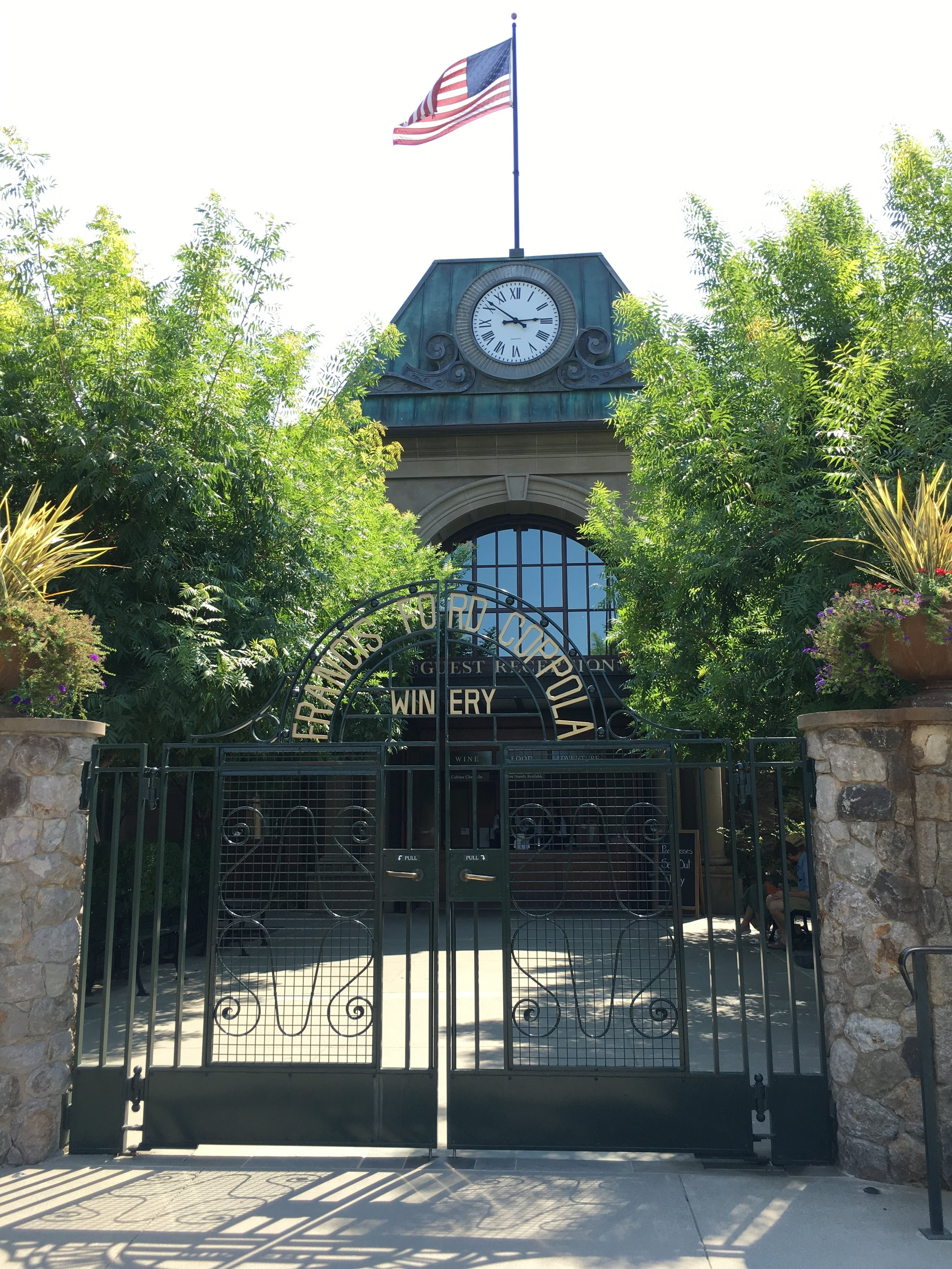 Twenty Four Hours in California Wine Country - Francis Ford Coppola Winery