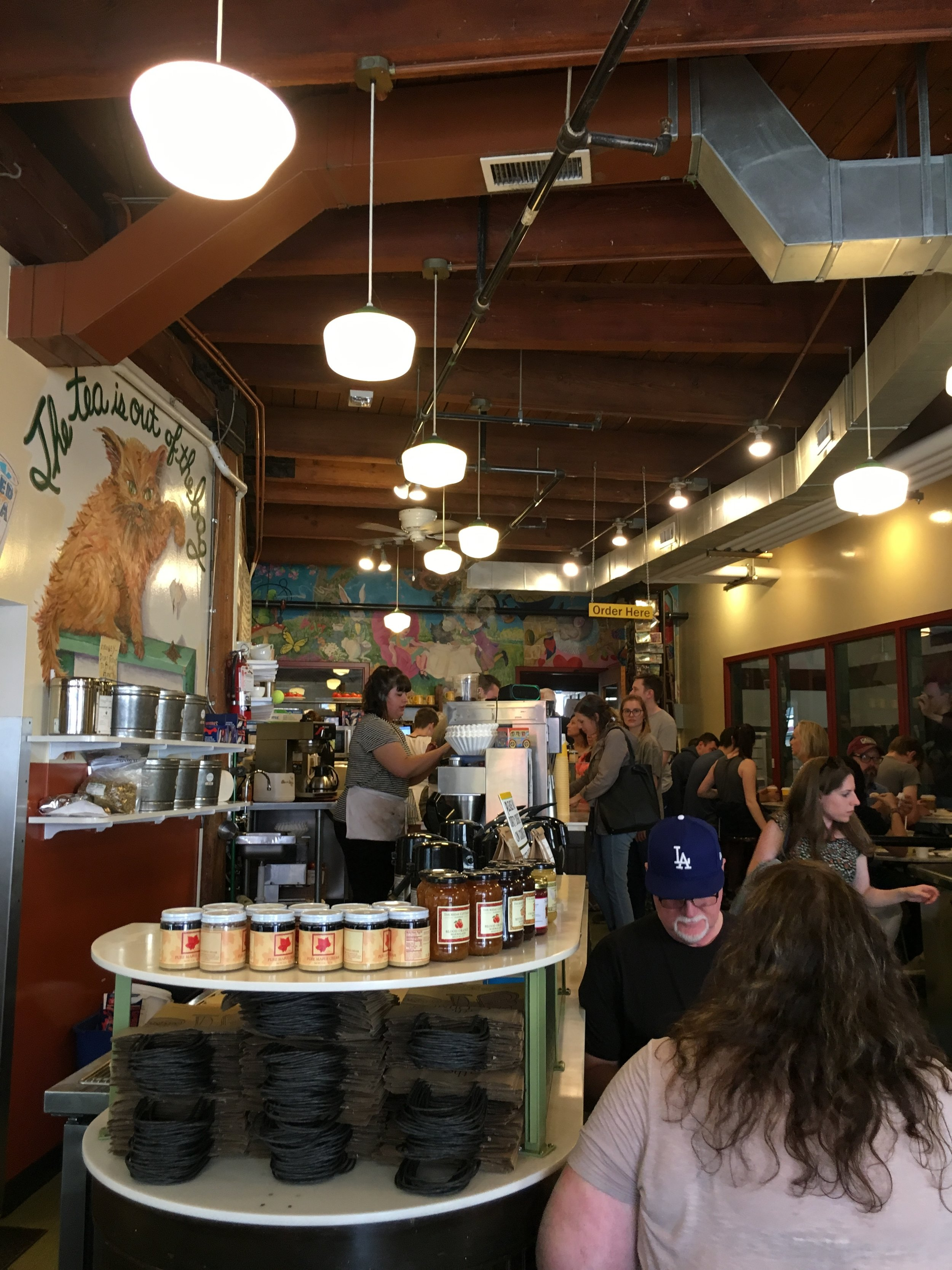 What to See, Eat, and Do in Seattle: The Crumpet Shop - wear she blossoms