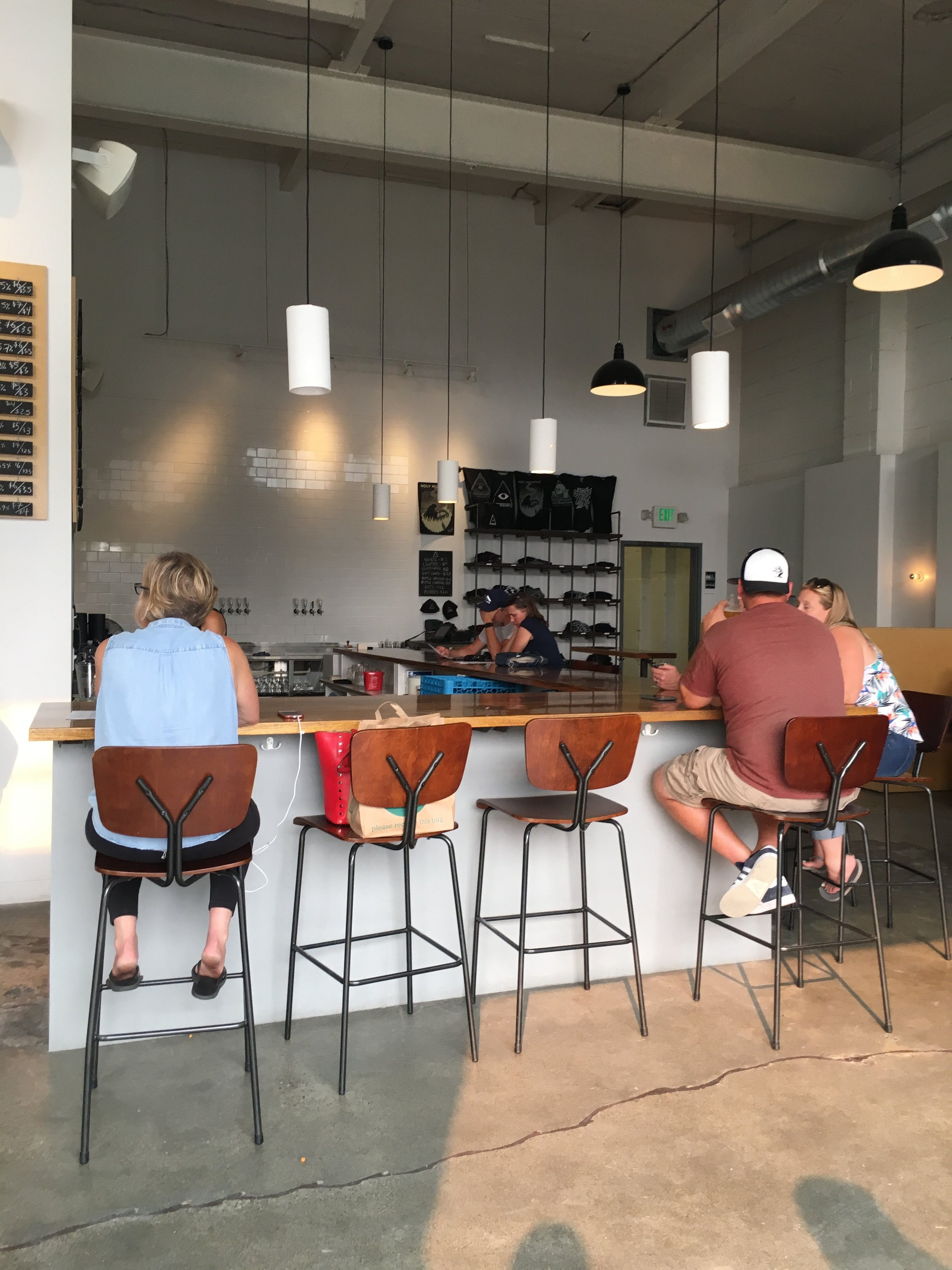 What to See, Eat, and Do in Seattle: Holy Mountain Brewing - wear she blossoms