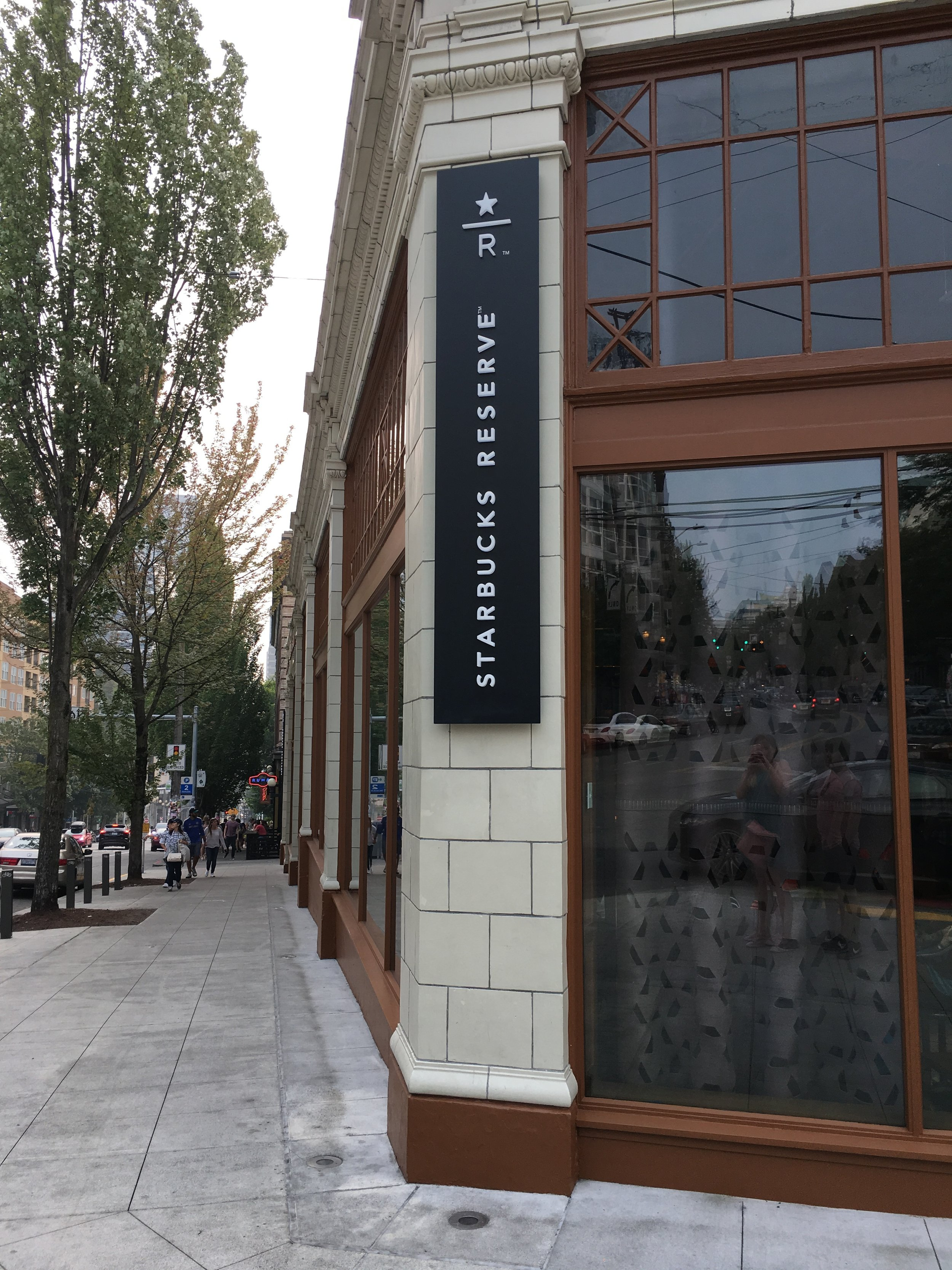 What to See, Eat, and Do in Seattle: Starbucks Roastery Reserve - wear she blossoms