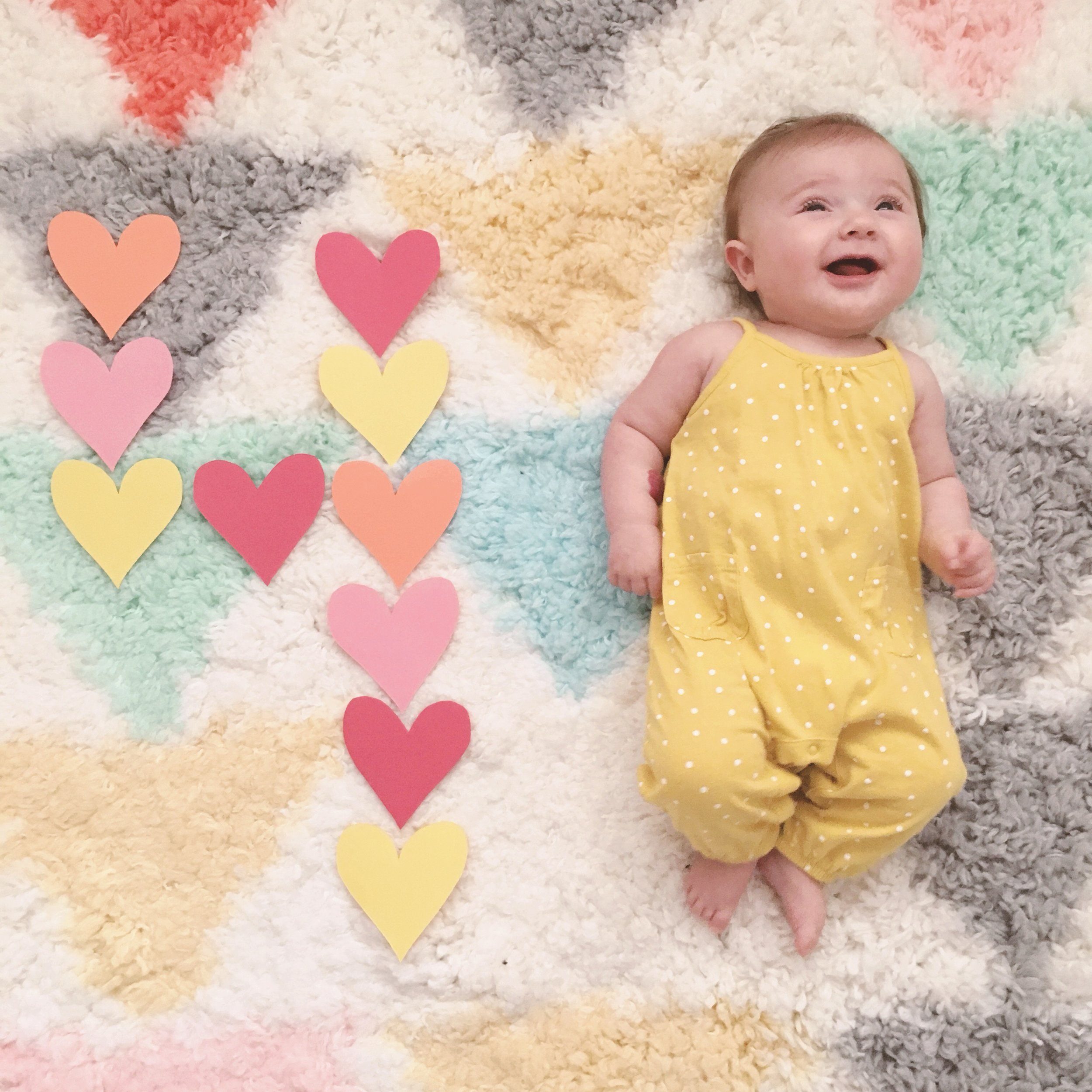 Violet's Four Month Update and Our Summer Plans - wear she blossoms