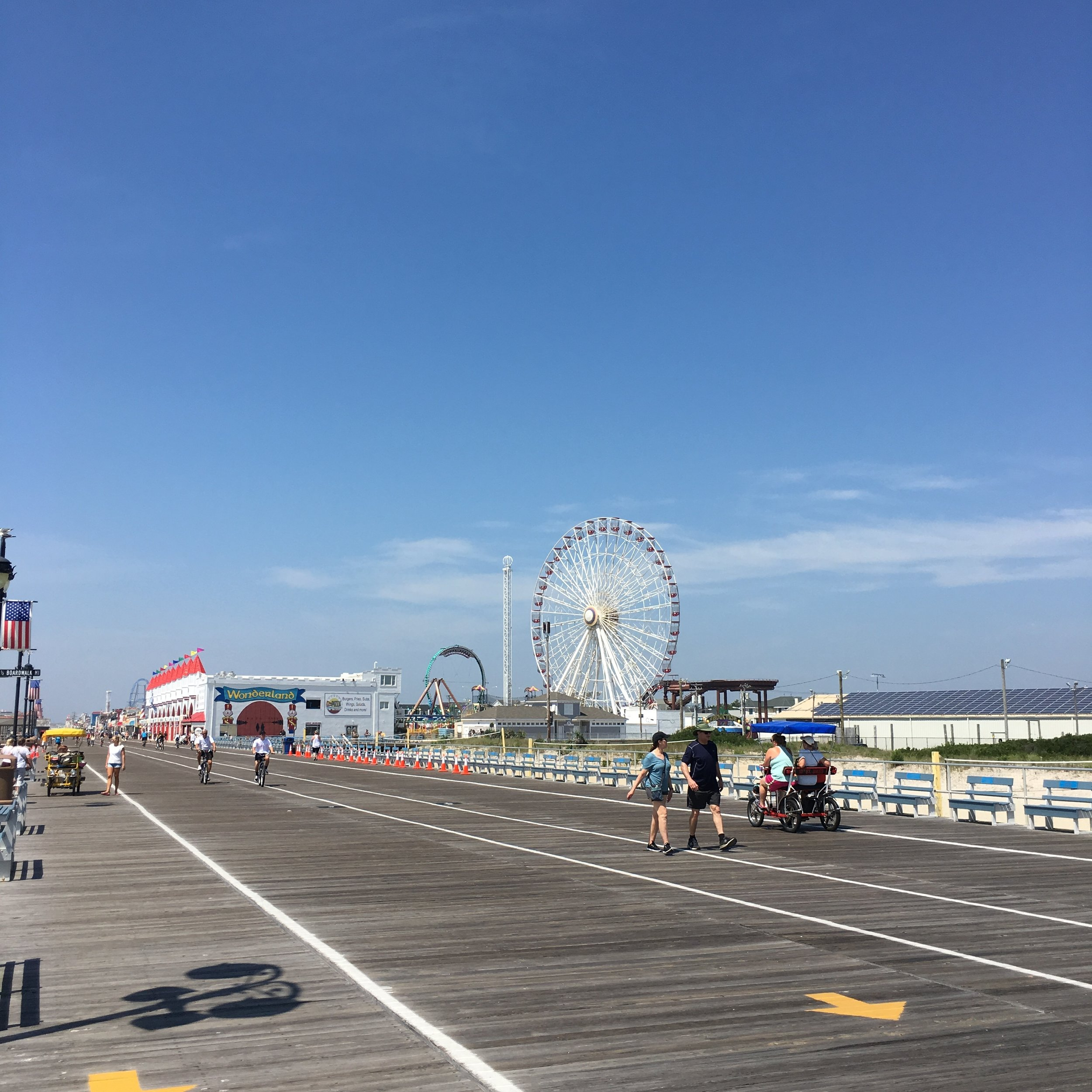 What to See, Eat, and Do in a Week at the Jersey Shore - wear she blossoms