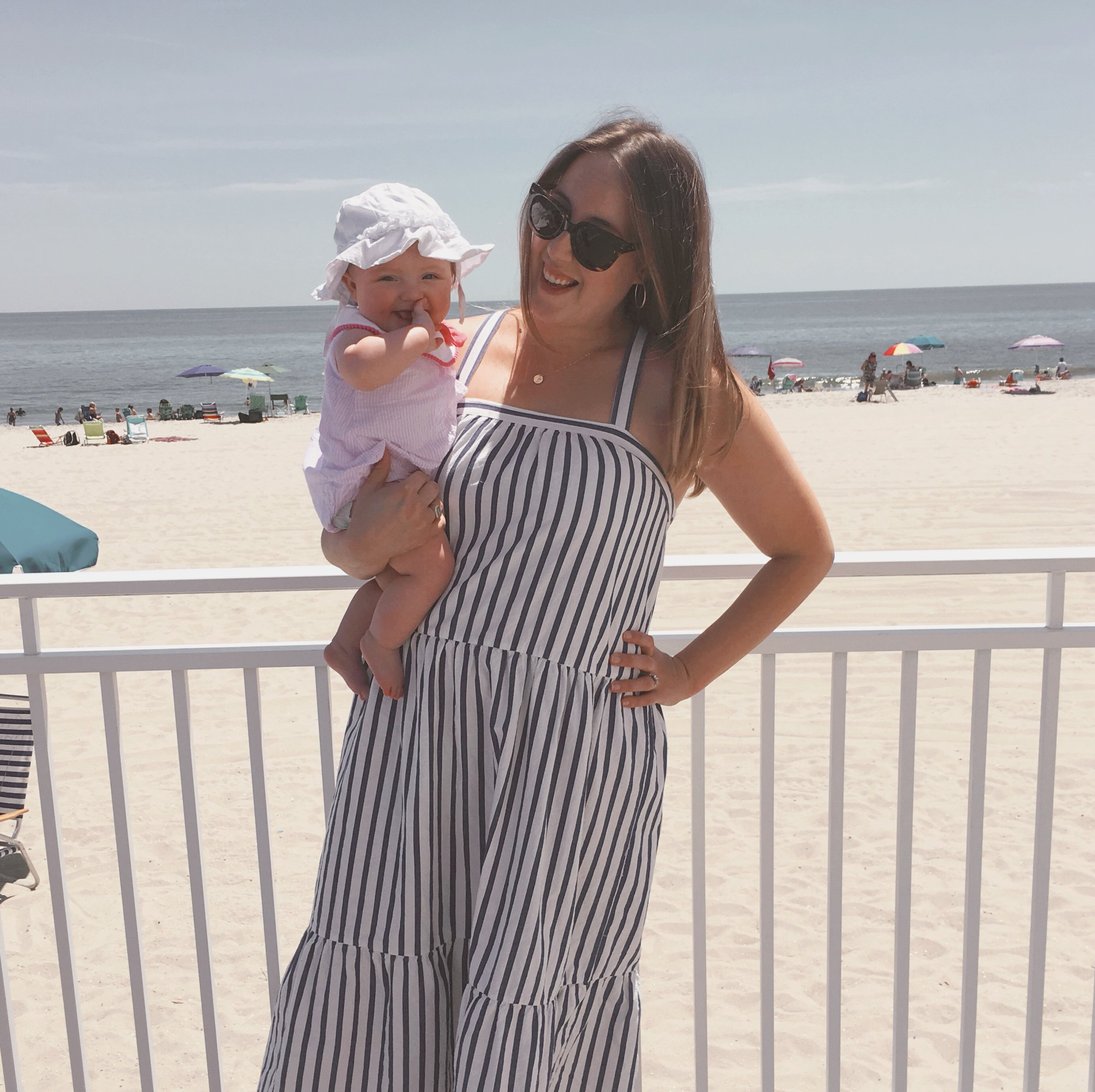 Violet's Six Month Update and Our Favorite Things from 0-6 Months - wear she blossoms