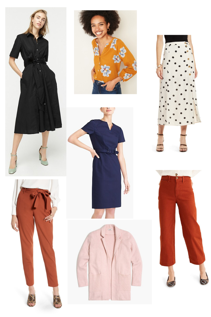 August Shopping List: Back to Work Essentials