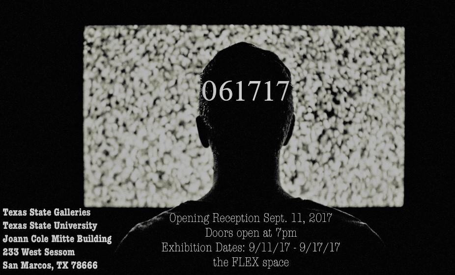 061717 (Curated by Elise Galperin), FLEX exhibition space and performance, On view September 11–September 17