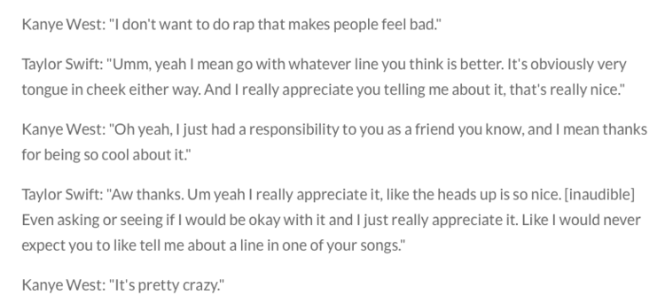 Portion of Video Transcript/Eonline.com  You can find the full video transcript  here.