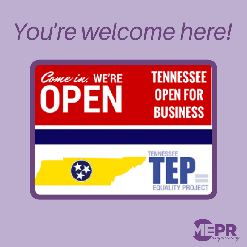 We're Open for Business! - That means we pledge not to discriminate against gay, lesbian, bisexual, or transgender individuals or couples or anyone else for that matter!