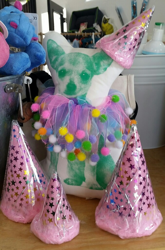 Party gear for an absolutely fabulous fur baby birthday bash!