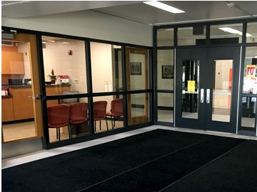 Secure Entrance and Improved Fire and Security Systems