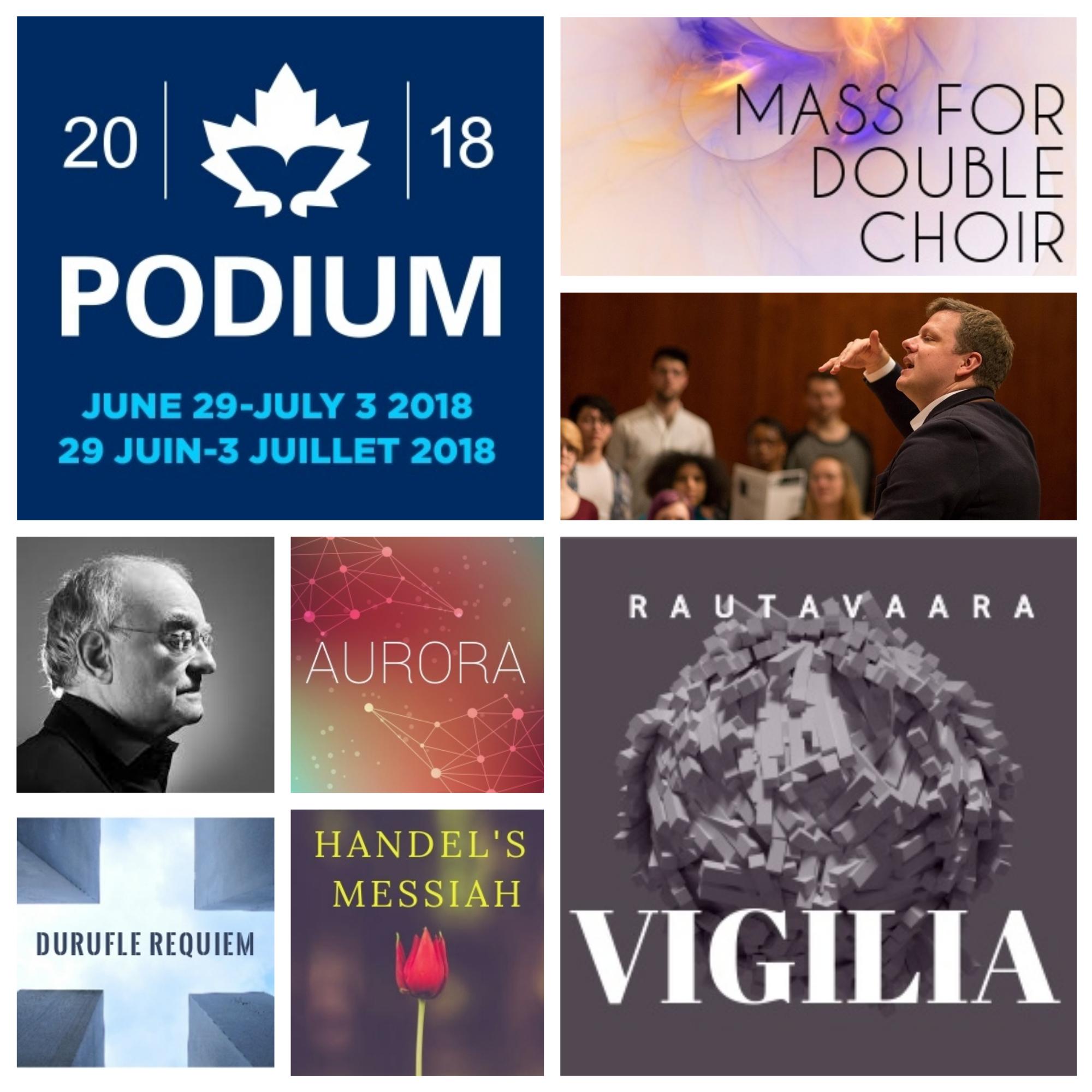 2017 - 2018 Season - Durufle Requiem with Ottawa Regional Youth ChoirNovember 11, 2017AuroraDecember 9, 2017Handel's