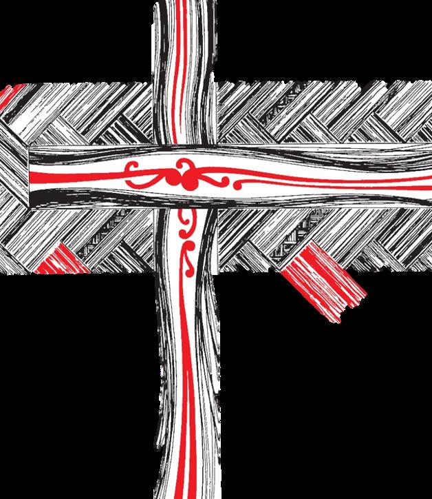 Anglican flax cross