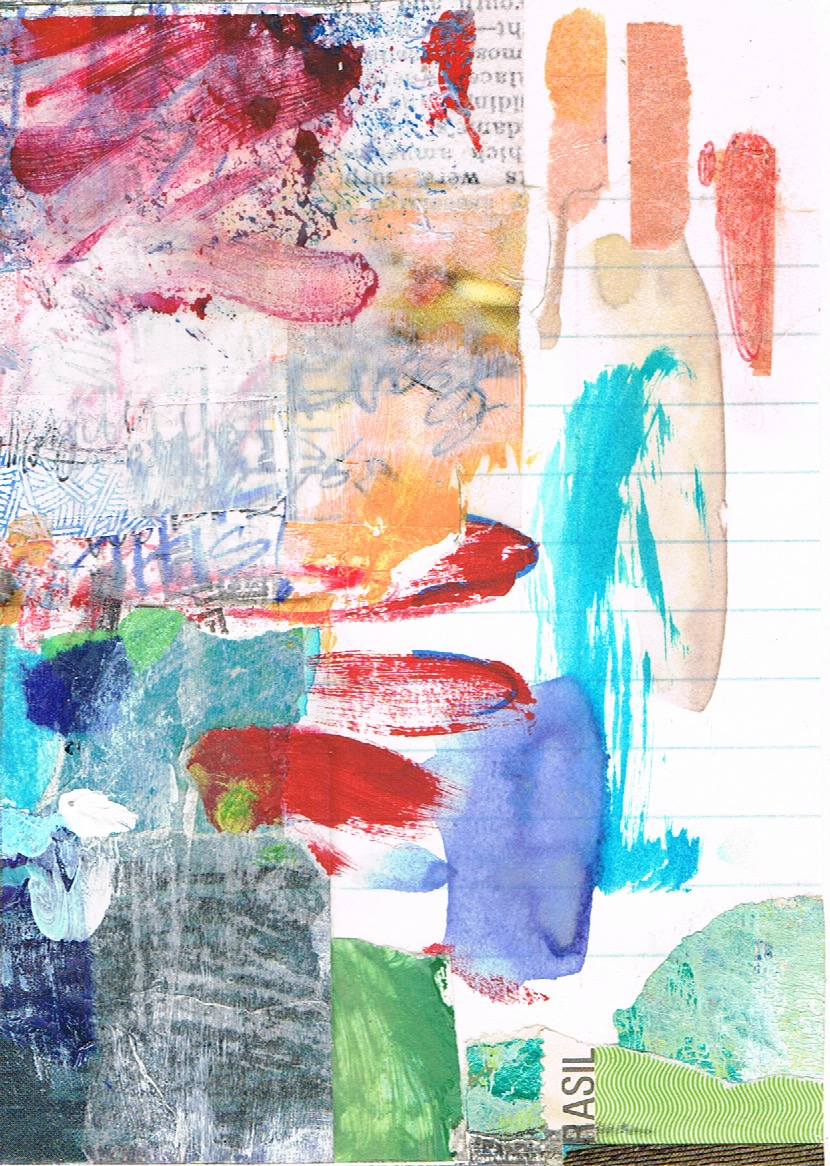 """""""Every Which Way"""" collage (detail) by Melissa Combs"""