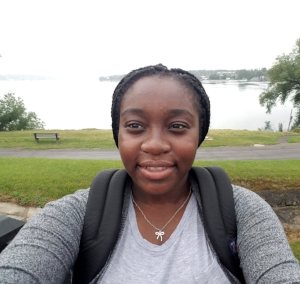 Lesley Ofori Antwi, Bayside High School student