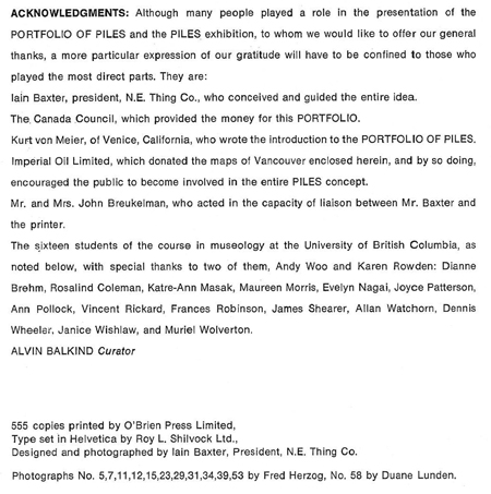 And this is the page of acknowledgments for contributors to the project.