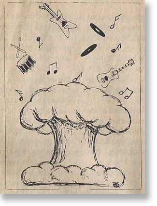 """""""Rock and Roll was a reaction to the atomic and hydrogen bombs."""" -- von Meier"""