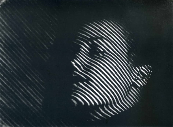 """Stripes"" - A photograph by photographer/artist Man Ray"