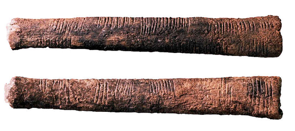 The etched lines in the Ishango Bone are considered by some to show the roots of mathematics.