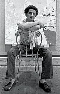 Artist Irving Petlin in 1966.