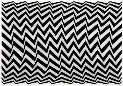 Op Art had a short, but influential period during the 60s.