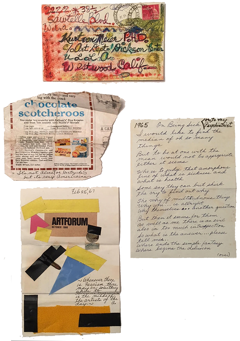 The notes were sometimes complex, imaginative and disarming; this bundle included a 22-caliber bullet.