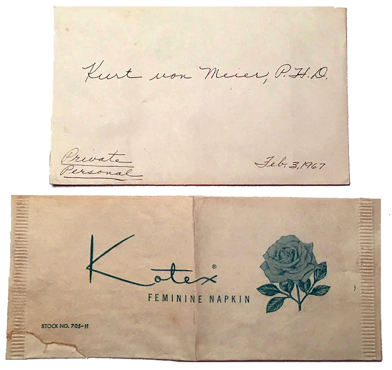 Some mailings were borderline, others downright suggestive and intimate.