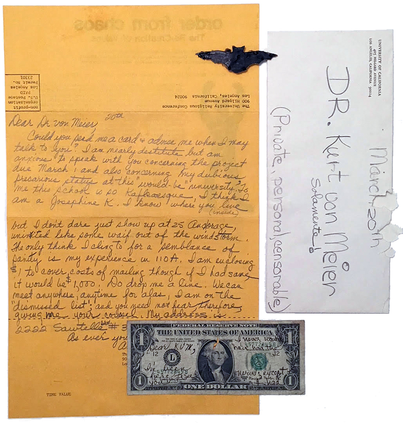 Bat wings, plaintive entreaties, a seductive envelope and a marked-up dollar bill; messages, signals or something else altogether?