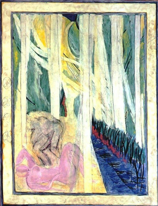Nymph in the Forest  by Henri Matisse.