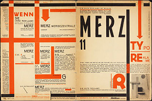 Schwitters used the word MERZ to describe the style of his work, derived from the second syllable in the German word for commerce.