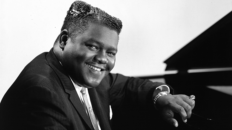 Fats Domino continued to record hits well into the late 50s.