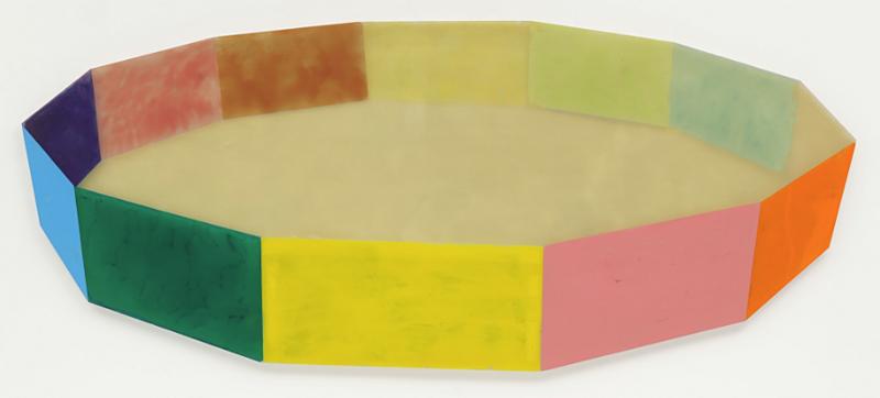 Ring  by Ronald Davis, 1968