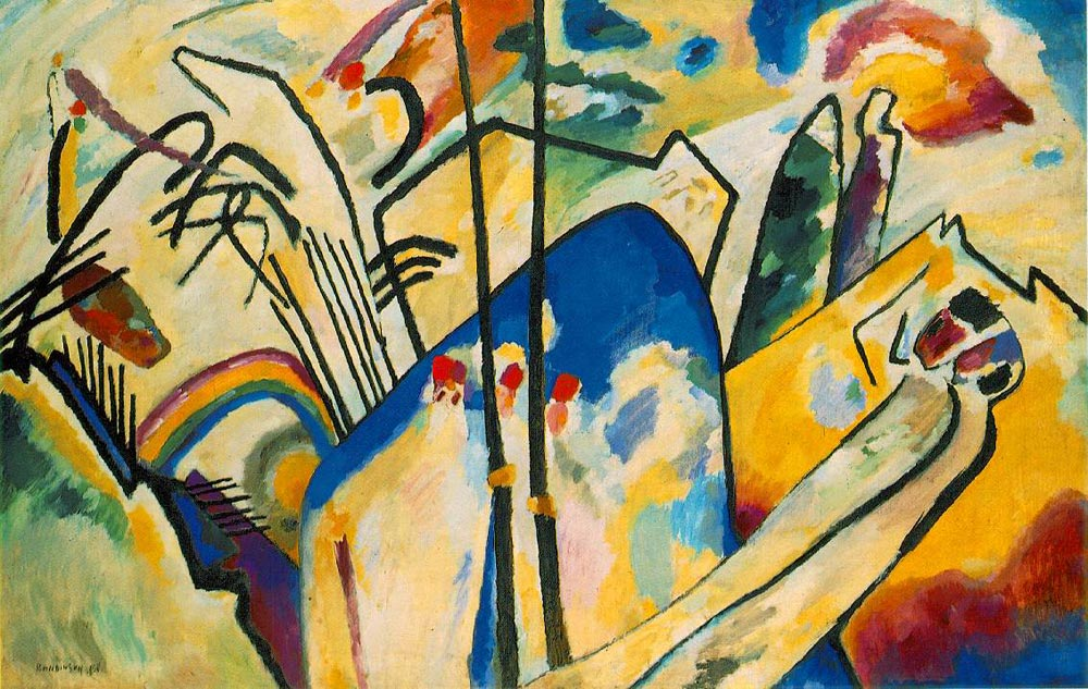 Composition IV  by Wassily Kandinsky, 1911