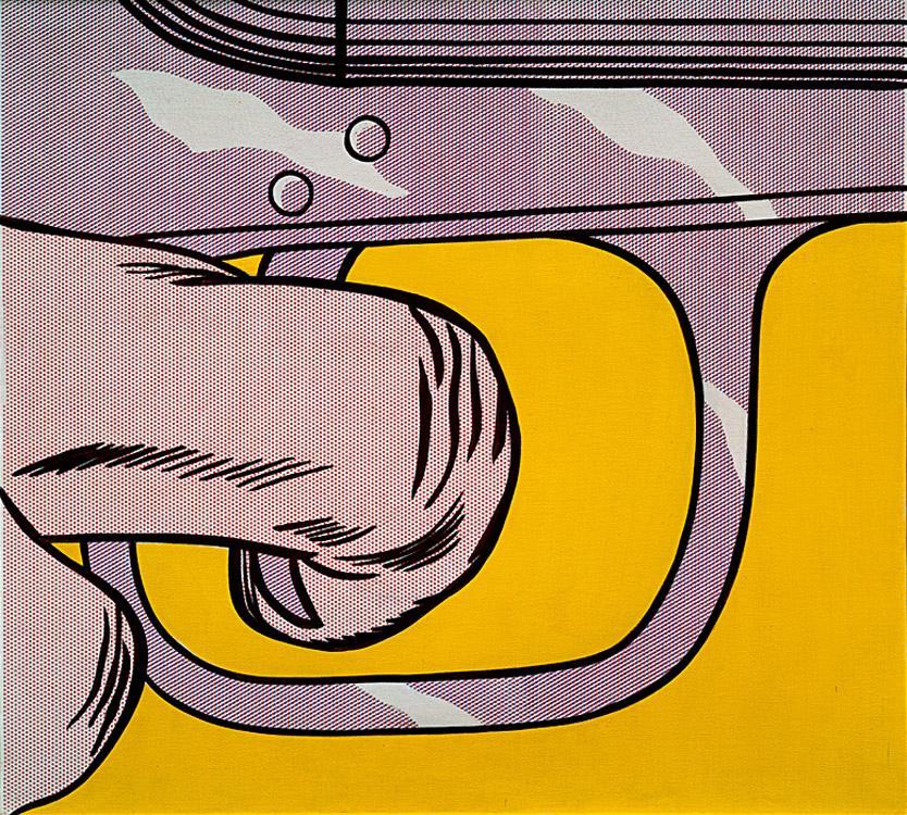 Trigger Finger  by Roy Lichtenstein, 1963