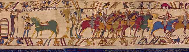 Panel 23 of the Bayeux Tapestry