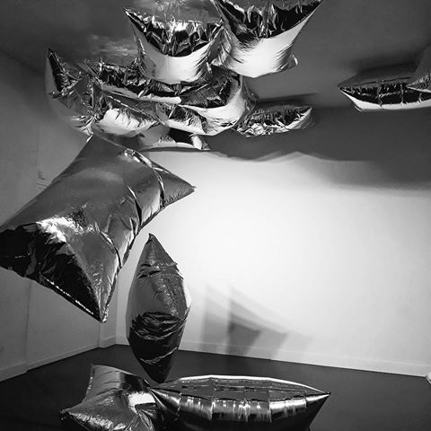 """Andy Warhol's Silver """"pillows"""""""