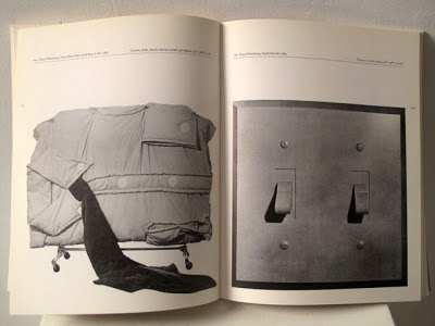 Interior pages of the exhibition catalogue by Maurice Tuchman