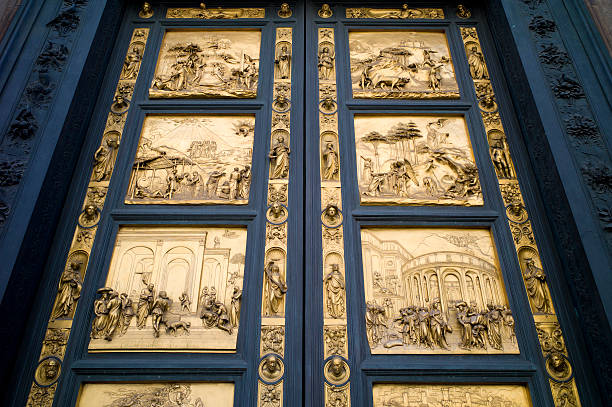 Ghiberti's Gates of Paradise for the Bapistry of the Florence Cathedral