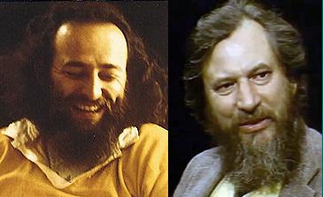 Kurt von Meier (left) and Claudio Naranjo (right), circa 1977