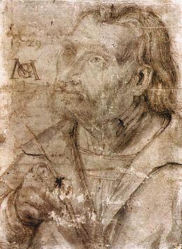 Matthias dit Grunewald Gotthardt Niethardt - Self Portrait